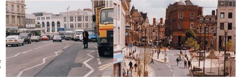 Autostatd vs. Stadt ohne Autos
